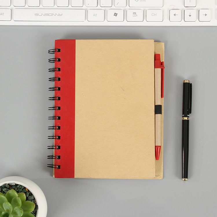 Coil binding notebook