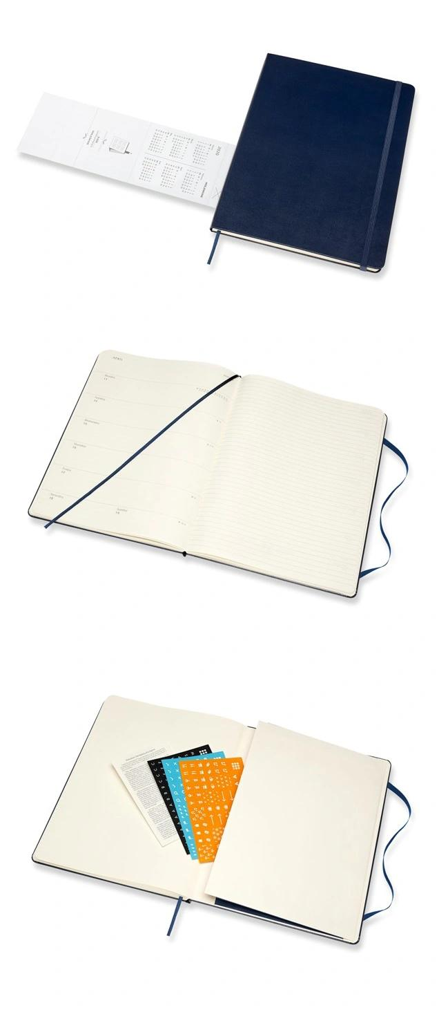 Customized High Quality Hardcover PU Leather Notebook